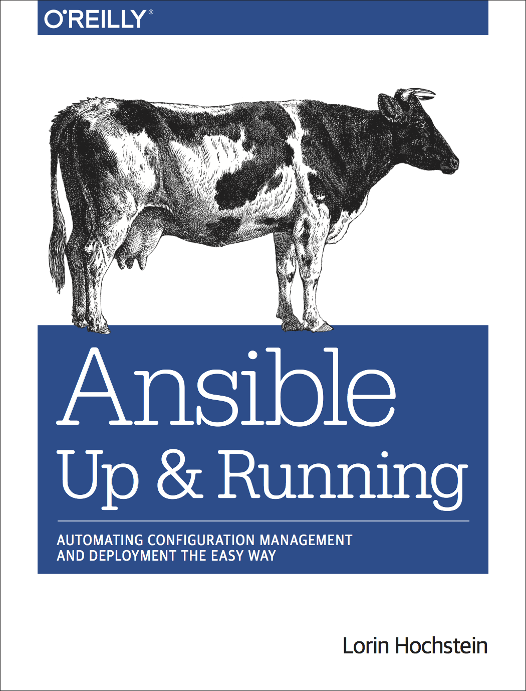 Book cover of Ansible: Up and Running